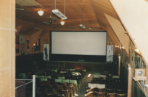 Art Deco country cinema production location 2