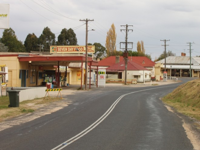 historic township perthville screen central