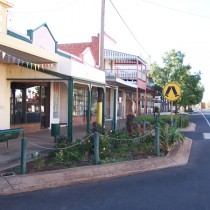 Parkes Town streetscapes for production location 2