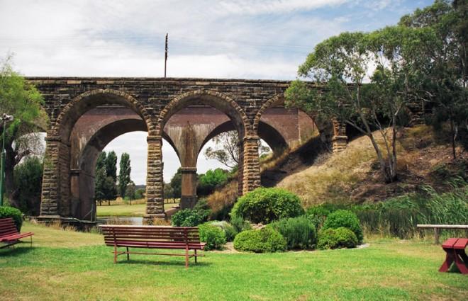 Stone Railway Bridge. Lithgow