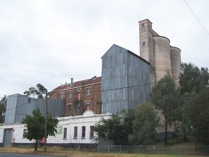 Flour Mill in Small Town. Murrumburrah