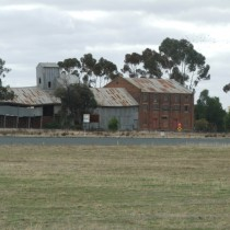 Disused Flour Mill. West Wyalong