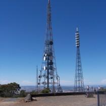 Broadcast Towers. Orange