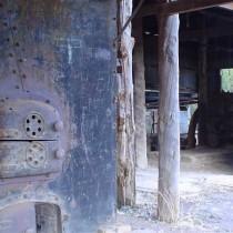Sheds at Booberoi Weir. Condobolin