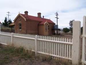 Isolated Railway Station. Stuart Town