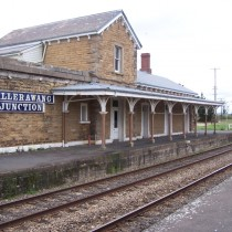 Railway Station. Wallerawang