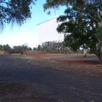 Disused Drive-In Cinema. Dubbo