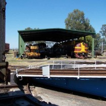 Lachlan Valley Railway. Cowra