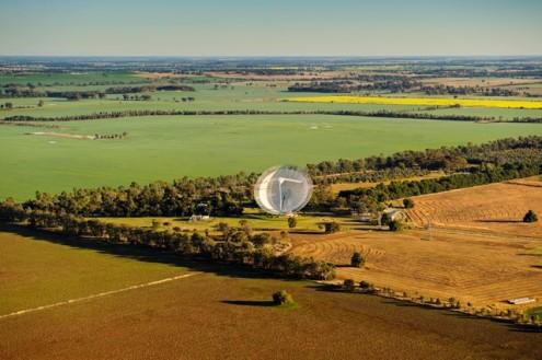 Radio Telescope. Parkes