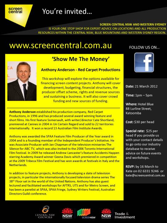 SC Show me the money flyer 2