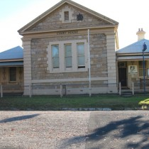 Molong Court House and Police Station