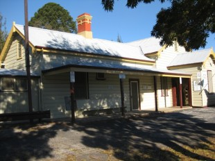 Molong Railway station Front