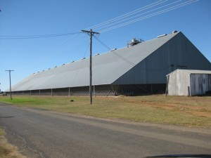 Yeoval Grain storage facility