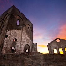 Blast Furnace at sunrise - Lithgow