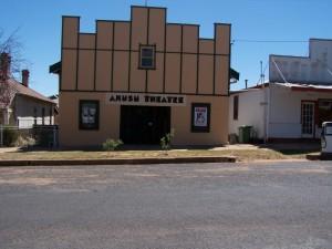 Art Deco country cinema production location 3