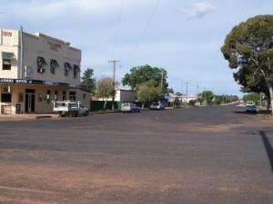 Outback Town Shopfronts. Tullamore