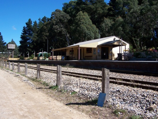 Railway Station. Clarence