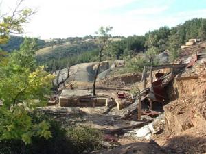 Copper Mine. Burraga