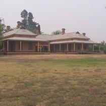 Period Corrugated Iron Mansion. Hay