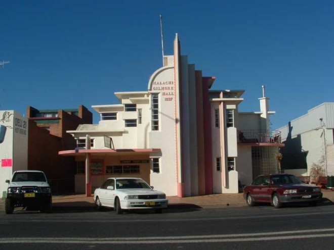 Deco Building. Oberon
