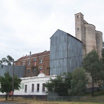 Flour Mill in Small Town. Murrumburrah