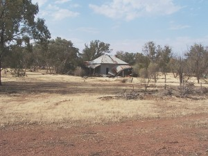 House in Ruins. West Wyalong