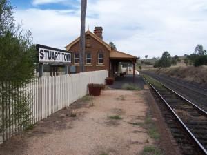 Isolated Railway Station. Stuart Town