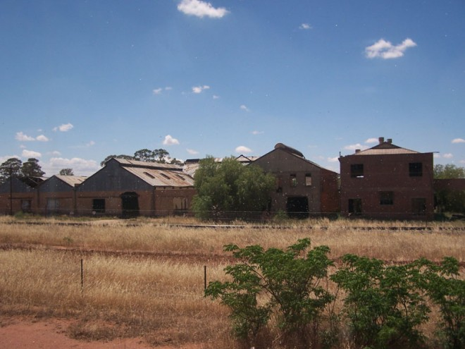 Disused Abattoir. Forbes