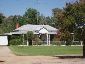 Early 20thC Homes. Eugowra