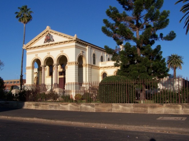 Country Court House.Dubbo