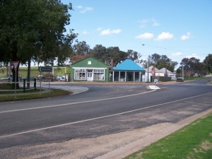Small Country Town. Cumnock