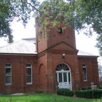 Red Brick Church. Cumnock