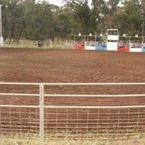 Rodeo Riding Rink. West Wyalong