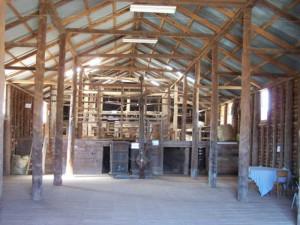 Large Timber Shearing Shed. Naradhan