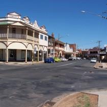 Colonial Era Streetscape. Canowindra