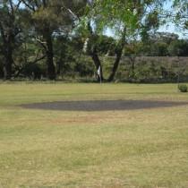 Cumnock Golf Course green
