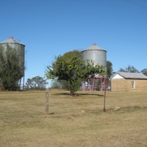 Silos outside Yeoval