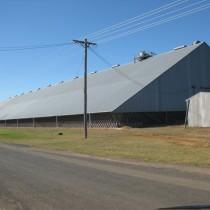 Yeoval Grain storage facility